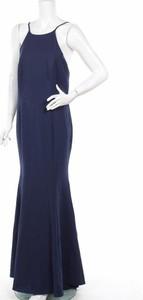 Niebieska sukienka Jarlo maxi bez rękawów