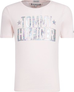 e574ee466088c Koszulka dziecięca Tommy Hilfiger z krótkim rękawem