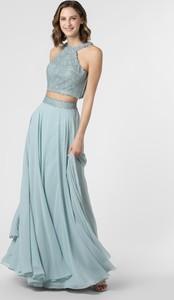 Sukienka Luxuar Fashion z dekoltem halter