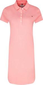 Sukienka Tommy Hilfiger w stylu casual z krótkim rękawem prosta