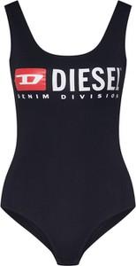 Bluzka Diesel z okrągłym dekoltem z dżerseju