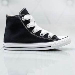 Czarne buty sportowe Converse w sportowym stylu