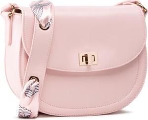 Różowa torebka Jenny Fairy ze skóry średnia