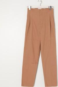 Brązowe spodnie Sinsay