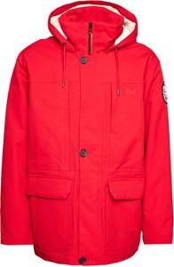 Czerwona kurtka Helly Hansen w stylu casual krótka