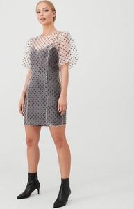Sukienka V by Very mini z krótkim rękawem