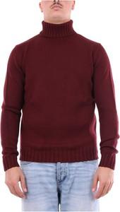 Czerwony sweter Heritage w stylu casual z bawełny