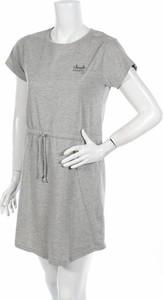 Sukienka Nebulus mini prosta z okrągłym dekoltem