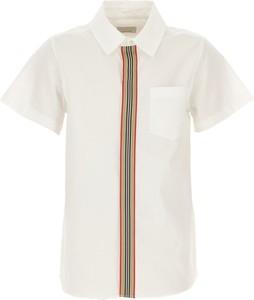 Koszula dziecięca Burberry z bawełny dla chłopców