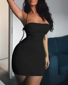 Sukienka Kendallme hiszpanka bodycon mini