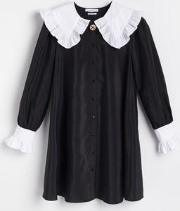Sukienka Reserved z kołnierzykiem