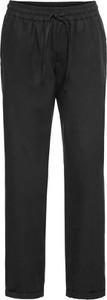 Czarne spodnie bonprix BODYFLIRT z lnu