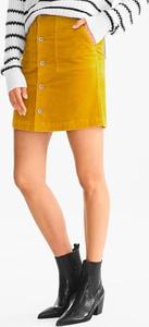 Spódnica YESSICA w stylu casual mini z bawełny