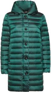 Zielony płaszcz Geox w stylu casual