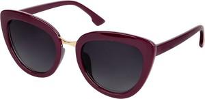 Czerwone okulary damskie Emp