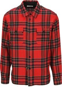 Czerwona koszula SAINT LAURENT