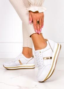 Buty sportowe Kati ze skóry