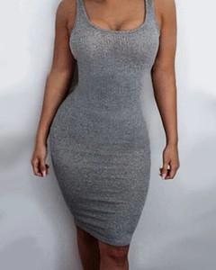 Sukienka Kendallme mini dopasowana z okrągłym dekoltem