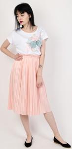 Różowa spódnica Olika midi
