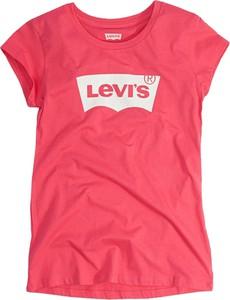 Bluzka dziecięca Levis z bawełny dla dziewczynek