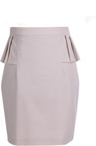 Różowa spódnica Fokus w stylu klasycznym mini