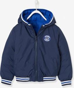 Niebieska kurtka dziecięca Vertbaudet