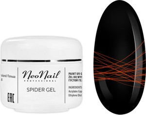 NeoNail Spider Gel 5 g - Neon Orange