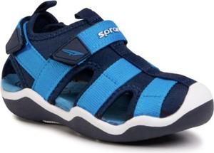 Niebieskie buty dziecięce letnie Sprandi