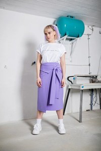 Niebieska spódnica REST_FActory