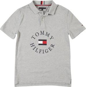 Koszulka dziecięca Tommy Hilfiger z tkaniny