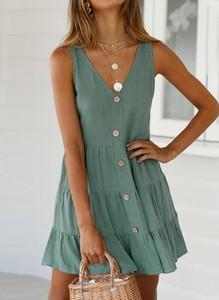 Zielona sukienka Sandbella mini