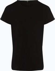 Czarny t-shirt Tigha w stylu casual