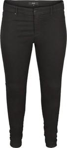 Czarne spodnie mysize.com.pl z bawełny w stylu klasycznym