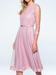 Różowa sukienka POTIS & VERSO