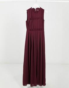 Fioletowa sukienka Ted Baker