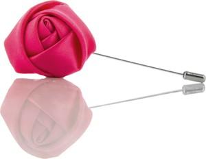 Em Men`s Accessories Szpilka do butonierki różowa róża EM 10