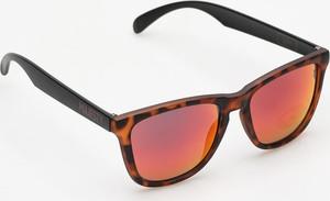 Brązowe okulary damskie Majesty