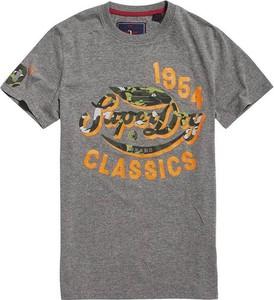 T-shirt Superdry w młodzieżowym stylu z bawełny z krótkim rękawem