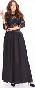 Sukienka Ptakmoda.com maxi z okrągłym dekoltem
