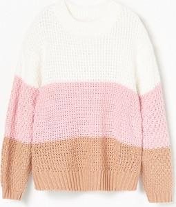 Sweter Reserved z dzianiny