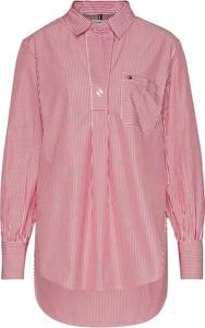 Koszula Tommy Hilfiger w stylu casual z długim rękawem