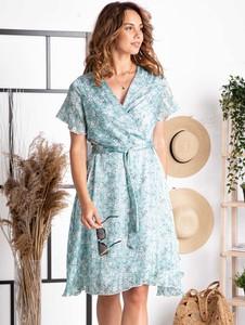 Sukienka Grandio z dekoltem w kształcie litery v mini