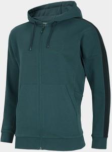 Zielona bluza 4F z dzianiny w sportowym stylu