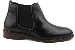 Czarne buty zimowe Venezia