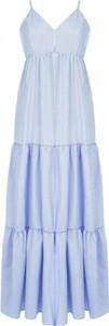 Niebieska sukienka Rinascimento