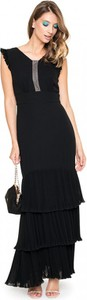 Czarna sukienka L'AF maxi