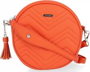 Pomarańczowa torebka David Jones