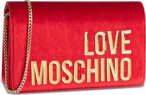 Czerwona torebka Love Moschino mała