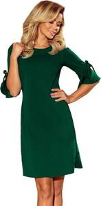 Sukienka NUMOCO w stylu casual z długim rękawem