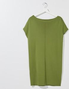 Zielona sukienka Mohito mini prosta